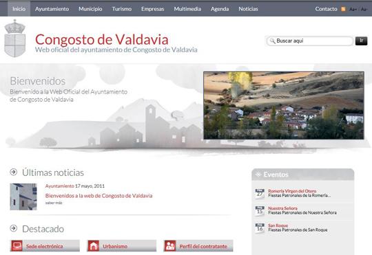 Portada Congosto de Valdavia