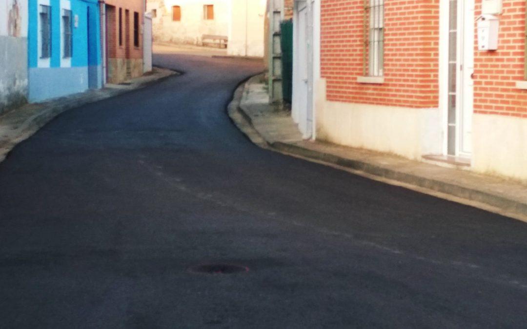 Campaña de Asfaltado de Calles en Congosto de Valdavia