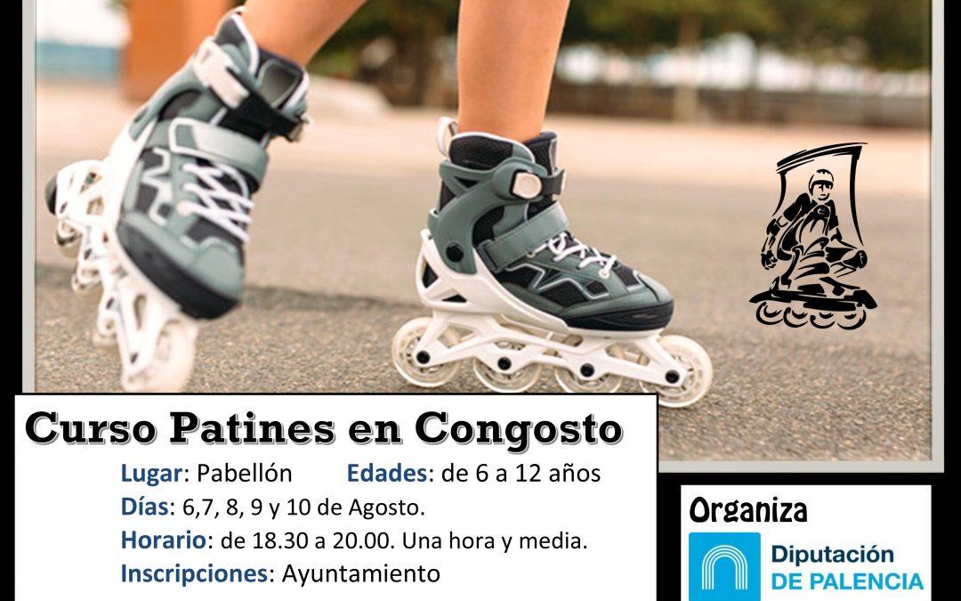 Curso patines en Congosto